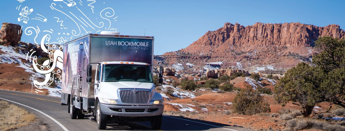 Utah bookmobile near Capitol Reef